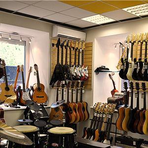 Музыкальные магазины Вешкаймы